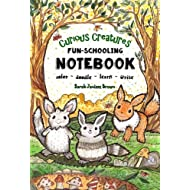 Curious Creatures - Fun-Schooling Notebook: Dyslexia Games Presents: Color, Doodle, Learn & Write - Ages 5 to 10 (Fun-Schooling With Thinking Tree Books) (Volume 1)