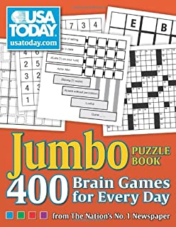 USA TODAY Jumbo Puzzle Book: 400 Brain Games for Every Day (Volume 8) (USA Today Puzzles)