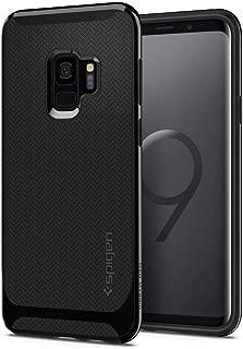 Capa Spigen para Galaxy S9 (Tela 5.8), Spigen Neo Hybrid [Mil-Grade][Air Cushion][Dual Layer], Samsung Galaxy S9 - G960 (Shiny Black)