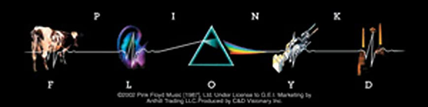 Licenses Products Pink Floyd L.P. Collage Sticker