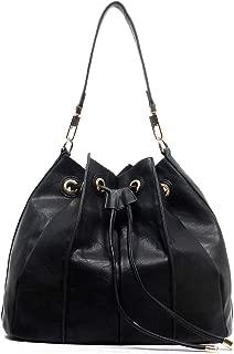 New! Handbag Republic Bucket Drawstring Hobo w/Pull-out Crossbody