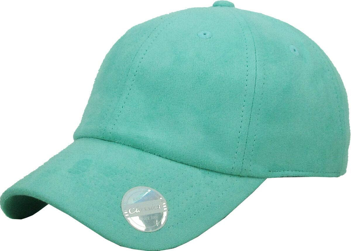 mart Mint 6 Panel Suede Challenge the lowest price of Japan ☆ Dad Hat Classic Adjustable Baseball Plai Soft