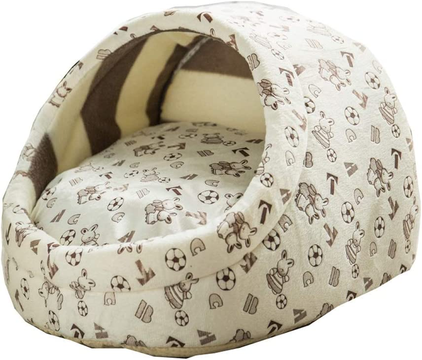 35% New product!! OFF LLNN Pet Nest Cave Semi-Closed House Moisture-Proof Sofa and