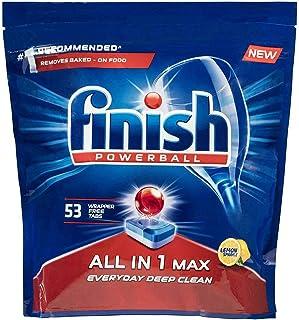 Finish  All in 1 Max Lemon Dishwashing Tablets, 53 Tablets