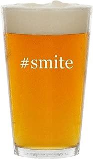 #smite - Glass Hashtag 16oz Beer Pint
