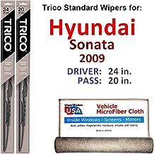 Best 2009 sonata windshield wiper size Reviews