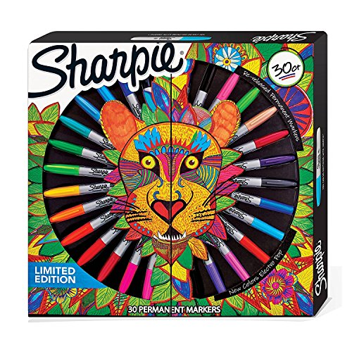 Sharpie 2016370colorear para adultos–Rotuladores de colores (Pack de 30)