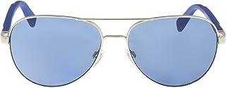 Just Cavalli Sunglasses JC728S 16W Shiny Palladium/Gradient Blue