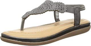 BATA Women's Crystal Sandal Flat