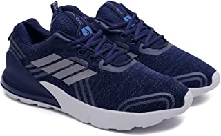 ASIAN Men's Dragon-04 Men's Knitted Sports Sneakers,Ultra-Lightweight, Breathable, Walking, Fabric Running Shoes
