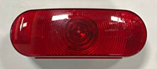 Triton 03526 Red Oval Tail Light