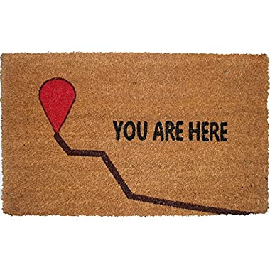US Décor Chat Mats You Are Here Door Mat
