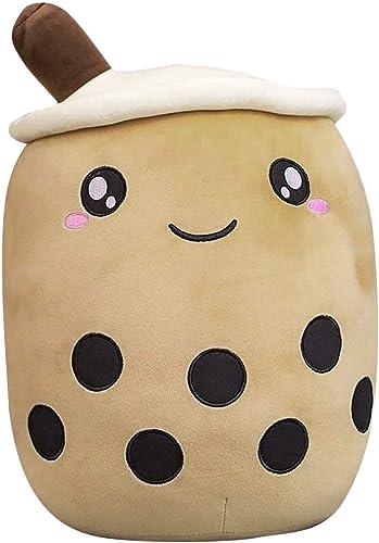 discount Milk 2021 Tea Cup Plushie Toy Soft Boba Bubble Tea Soft Doll Stuffed Tea Cup Hugging Pillow Gift Toys Cartoon outlet sale Bubble Tea Cup with Suction Tubes Hug Pillow Cushion,24/35cm sale