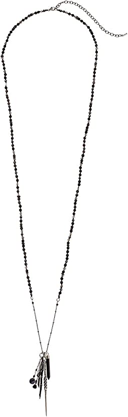 Chan Luu - Black Mix Charm Necklace
