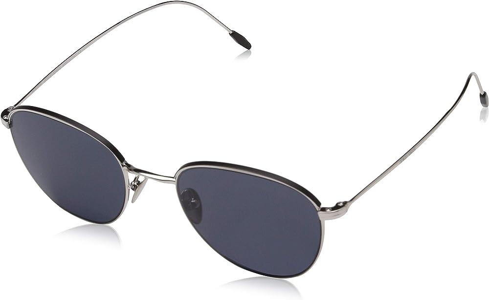 Emporio armani, occhiali da sole da uomo, nero (silver/matte black/grey) AR6048_Parent