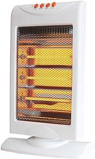 LTLJX Calefactor Eléctrico Radiador Halógeno, 1200W Termoventiladores Calor 3 Modo Ventilador Estufa de Cuarzo Protección Antivuelco para Hogar y Oficina