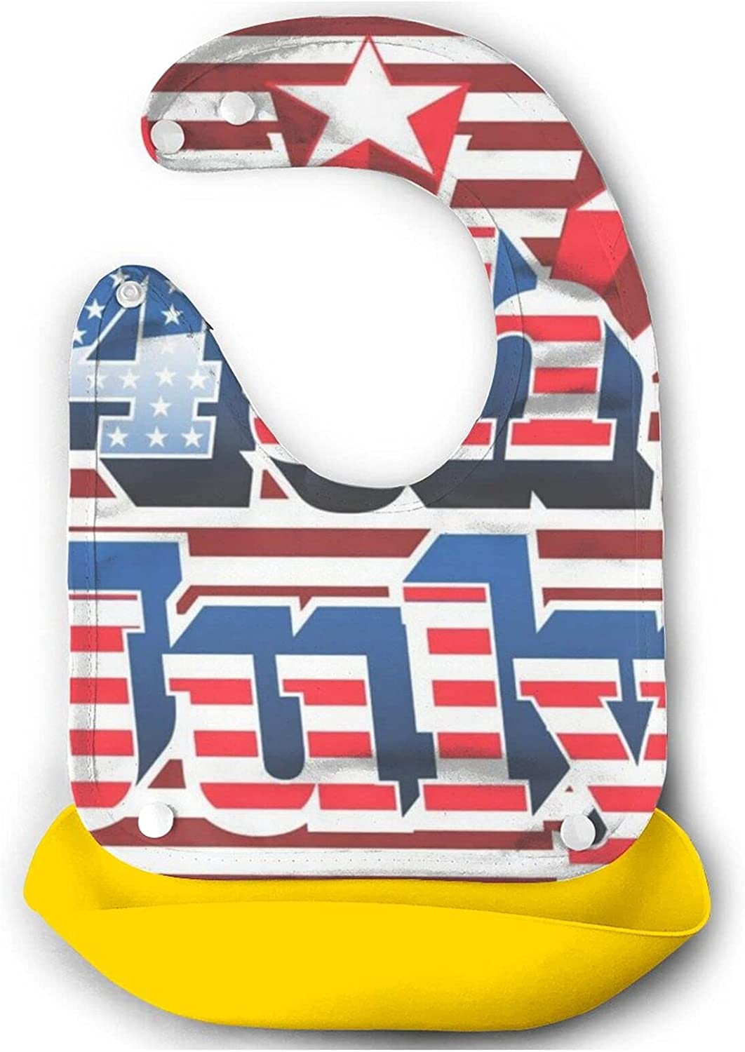 American 4th Of July Baby Bib Mouth Max Max 46% OFF 53% OFF Babies For Toddlers Cute