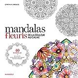 Coloriages mandalas fleuris