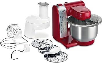 Bosch MUM48R1 Robot de Cocina 600 W, 3.9 L, 4 Velocidades, Color Rojo