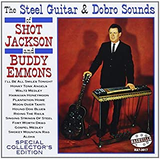 Steel Guitar & Dobro Sounds by SHOT & BUDDY EMMONS JACKSON (2013-07-02)