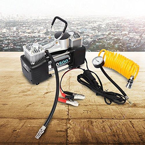 Moto pushfocourag Pompe /à air Portable 120 psi Haute Pression pour v/élo