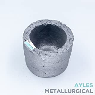 50ml Mini Silicon Carbide Graphite Crucible Furnace Torch Gold Silver Copper Metal Casting Melting Refining