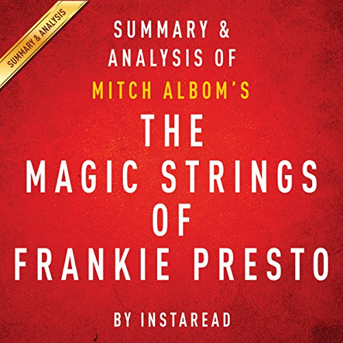 The Magic Strings of Frankie Presto: A Novel by Mitch Albom audiobook cover art