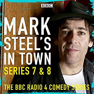 Mark Steel's in Town: Series 7 & 8 cover art