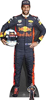 Star Cutouts Ltd Daniel Ricciardo, cartón, Multicolor, 178 x 85 x 178 cm