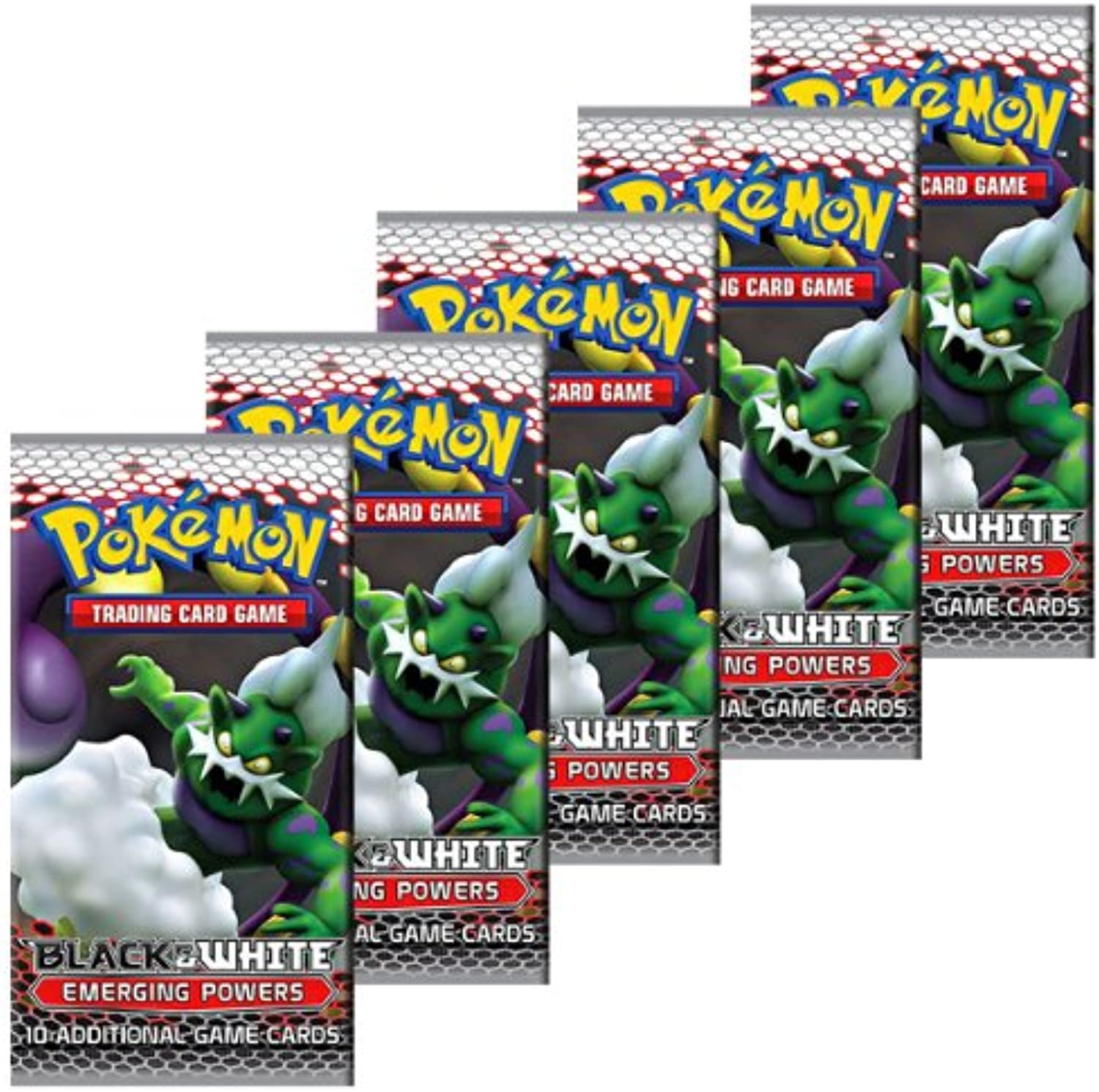 Pokemon Cards  Bw Emerging Powers  Booster Packs (5 Pack Lot)