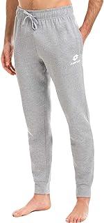 Lotto pantalone tuta uomo in felpa ESTIVA, offerta per 1-2 pezzi, pantaloni felpa uomo leggeri (1 PEZZO GRIGIO, XXL)