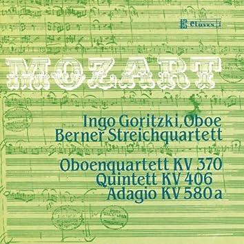 Mozart: Quintet K. 406 - Oboe Quartet K. 370 - Adagio K. 580a