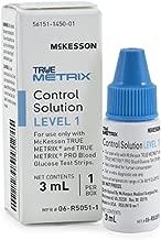 McKesson 06-R5051-1 True Metrix Pro Professional Monitoring Blood Glucose Meter, Control Level 1