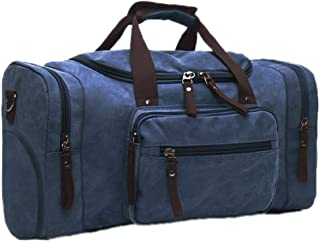 Soft Canvas Men Travel Bags Carry On Luggage Bags Generation 2 Blue