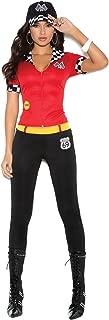 Burning Hot High Output Octane Honey Halloween Roleplay Costume 3pc Set