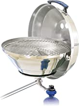 Magma Marine Kettle Gas Grill, Stainless Steel, Adjustable Control Valve