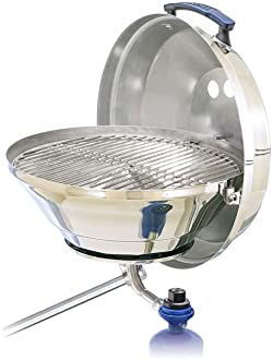 Multi A10-184 Double Locking Pedestal Mount for Marine Kettle Grills A10-184 One Size Magma Products