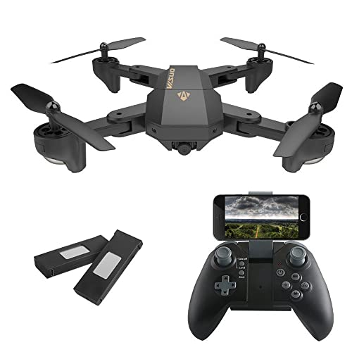 IZI Advance HD Camera Drone 2.0MP WiFi FPV Quadcopter with 720P 120° Wide Angle Camera Foldable Altitude Hold Drone Helicopter Controlled Remote Controller Included