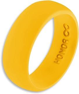 خاتم رجالي من السيليكون مع خاتم الزواج Honor Eternity