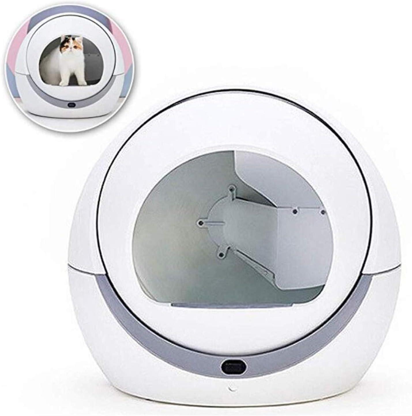 robot arenero para gatos