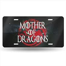 Kennthallen Mother of Dragons Aluminum Metal License Plate