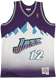80c0e97ad95cd Mitchell & Ness - Maillot NBA John Stockton Utah Jazz 1996-97 Hardwood  Classic Swingman
