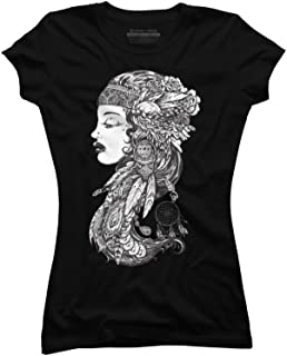 Gypsy Girl Juniors' Graphic T Shirt - Design By Humans