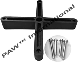 Angled Spacer for Metal or Polymer TV Brackets-Distributed by PAW International