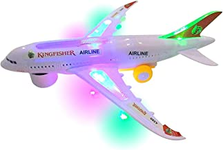 SUPER TOY Battery Operated Aeroplane Toy for Kids (Light and Sound)