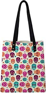 Satchel Purse Abstract Modern Garden Theme with Artistic Rowan Plant Botanical Pattern Design,Big Capacity Handbag Hobo bag Womens Soft PU leather Tote Shoulder Bag