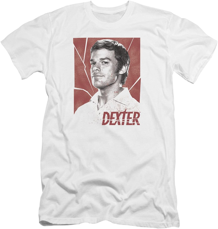 Dexter  Mens Poster Premium Slim Fit TShirt