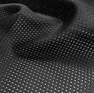 """Pico Textiles Black Micro Mesh Jersey Fabric- 60"""" Wide - Sold by The Yard & Bolt - Multi Collection - Style# 45822 - $$ Bu..."""