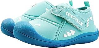 Bebé Primeros Pasos Zapatos 1-4 años Niños Zapatos Niños Niñas Suave Suela Antideslizante Algodón Lona Malla Transpirable Ligero TPR Material Slip-on Zapatillas Deportivas Outdoor