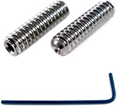 M3 x 8mm Socket Set Grub Screws Cup Point Stainless Steel 10 Pack with 1.5 mm Hex Key Wrench (8mm Length)